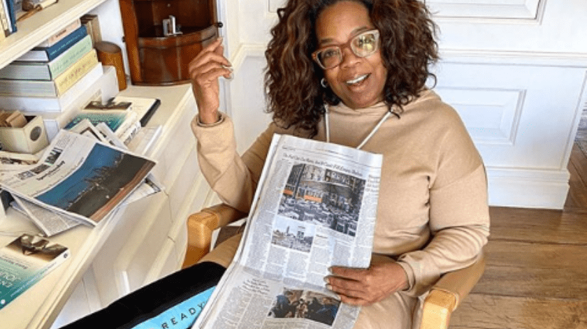 Oprah anuncia donación de $10 millones de dólares.(Instagram/Oprah)