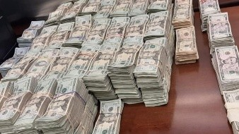 En total se decomisaron 620 mil dólares.