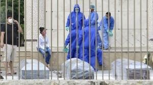 Coronavirus: En Ecuador, los cadáveres permanecen en casa