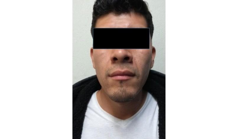 El detenido está identificado como David N.(Cortesía)