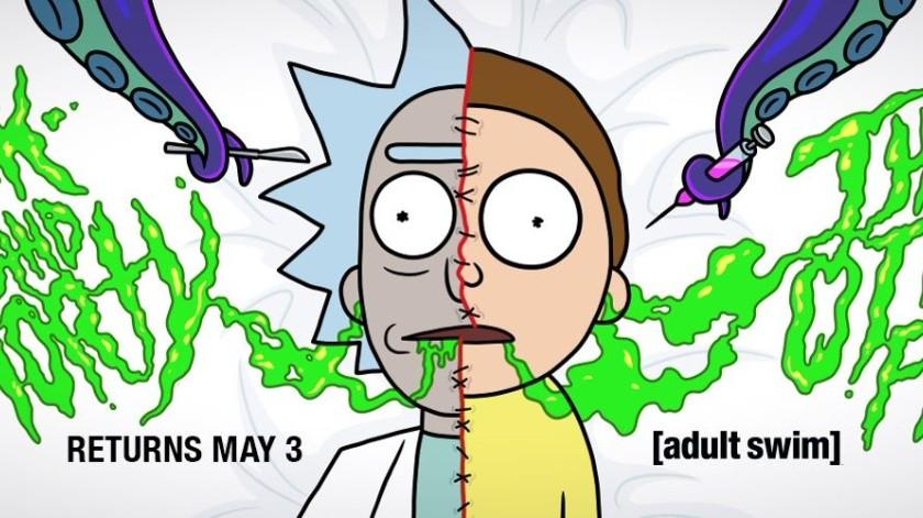 Rick y Morty regresan en mayo.(Ilustrativa/Twitter: rick y morty)