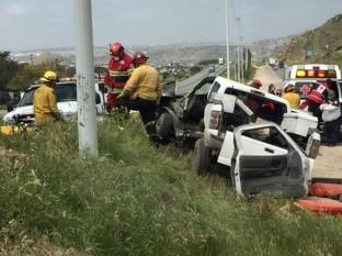 Choque sobre el Bulevar 2000 deja tres heridos