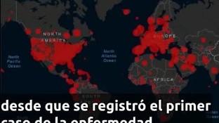 Cifras de la Organización Mundial de Salud, confirman que la pandemia ha infectado a más de un millón y provocada la muerte de más de 51,335  personas.
