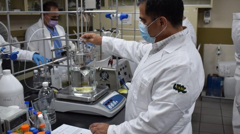 Investigadores cimarrones desarrollan sanitizante para prevenir Covid-19.(Cortesía)