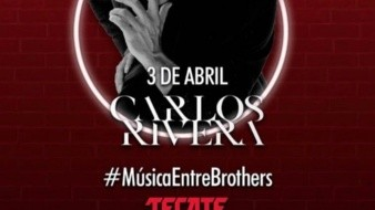 Ofrecerá Carlos Rivera concierto 'Música entre Brothers' en Facebook