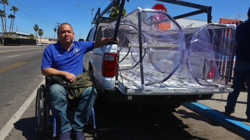 """Donan """"cápsulas de traslado"""" al Hospital General de Mexicali(Daniel Resendiz)"""