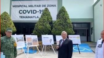 Acompañado de Luis Cresencio Sandoval, titular de la Secretaría de la Defensa Nacional (Sedena), AMLO reveló que ya se afina el Plan DN-III.