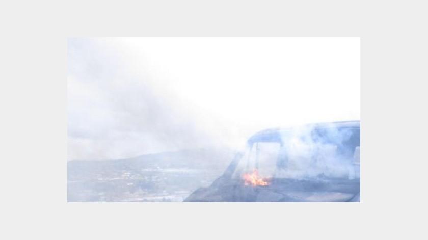 Bomberos de Hermosillo llegó al lugar para controlar las llamas en los autos.(Imagen ilustrativa.)