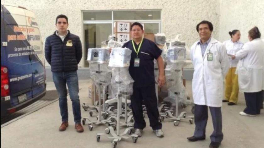 Donan 50 ventiladores al IMSS para pacientes con Covid-19 tras pedirle 2 mil a Hacienda(El Universal)