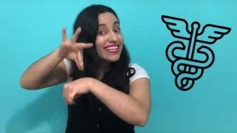 Mafer López enseña la LSM para atención médica de personas sordas