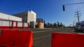 Cierran Calle del Hospital como medida preventiva por contingencia sanitaria