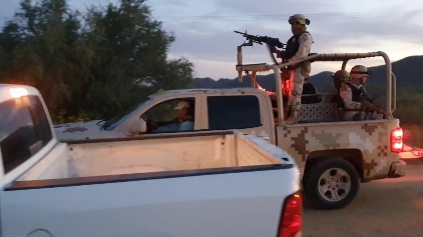 El Operativo de Seguridad está integrado por elementos de la 45 zona Militar, así como de la Guardia Nacional, agentes de la Policía Municipal y oficiales de la Policía Estatal de Seguridad Pública.
