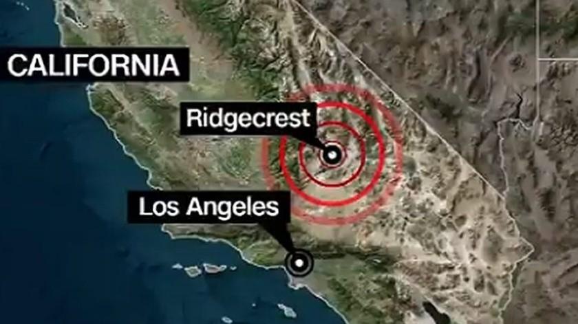 Sismo de 4.9 se siente en Tijuana; el epicentro fue en Anza, California(Internet)