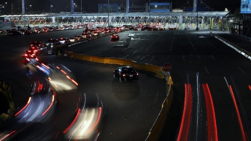 Una noche en Tijuana en contingencia por Covid-19(Sergio Ortíz)