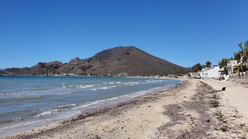 Las playas de Guaymas y San Carlos no tendrán visitantes esta Semana Santa.(Yesicka Ojeda)