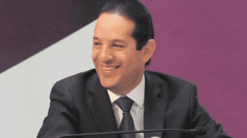 El gobernador de Querétaro dio positivo a la prueba del Covid-19.(Archivo)