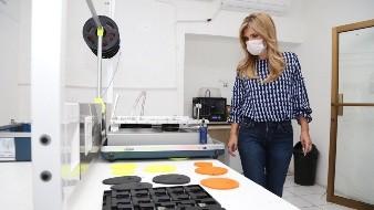 Destaca Gobernadora labor de profesionistas en la creación de respiradores artificiales