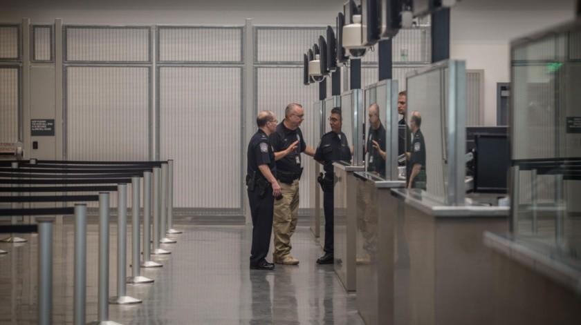 en las garitas de Tijuana es el único cambio informado por las autoridades fronterizas de Estados Unidos.