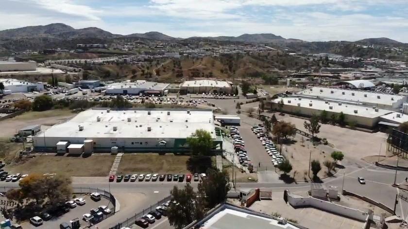 Alrededor de 20 mil trabajadores deben seguir laborando en las industrias maquiladoras de Nogales con el perfil o vocación esencial.(Rubén Ruiz)