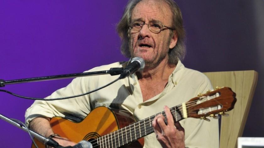 Luis Eduardo Aute fallecio este sábado a los 76 años.(EFE)