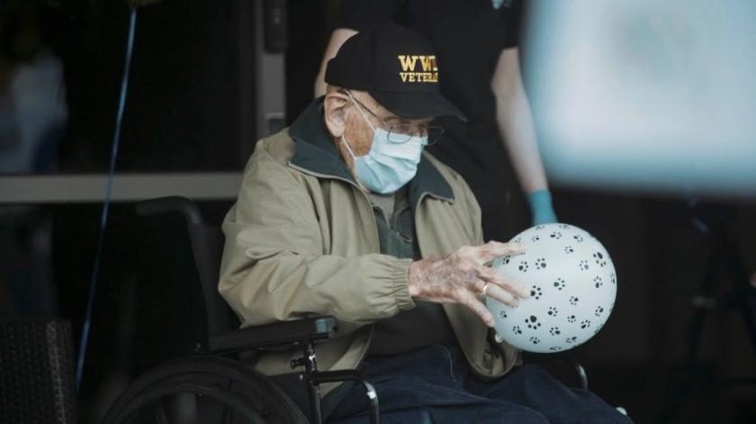 A sus 104 años ha superado el coronavirus, la Segunda Guerra Mundial y la gripe española(Especial)