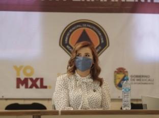Donará Marina del Pilar su salario para insumos médicos
