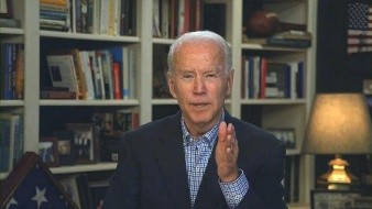 Convención Demócrata podría ser por Internet: Biden