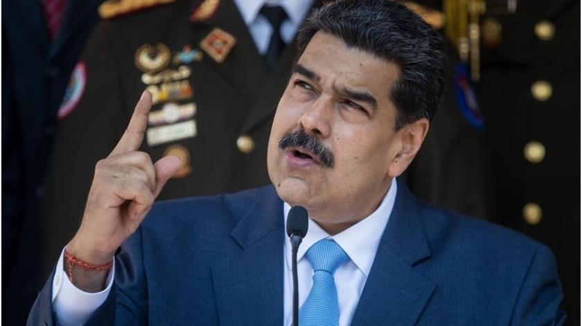 """Maduro pide a EU no iniciar una guerra ante la posible intervención para """"solucionar"""" asuntos democráticos de Venezuela.(EFE)"""