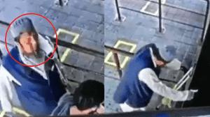 VIDEO: Hombre con COVID-19 escupe a otro y luego cae muerto