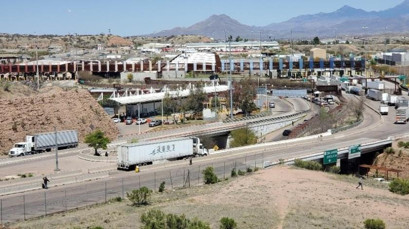 Nuevo horario tendrá a partir de mañana la garita Mariposa de Nogales.(Banco Digital)