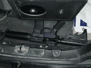 Asegura en SLRC un rifle de asalto