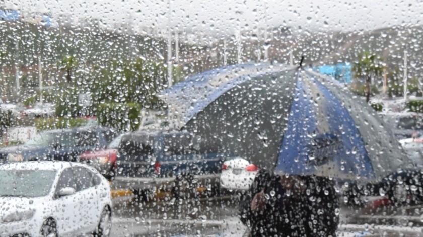 Nuevo frente frío traerá lluvias a Ensenada.(Cortesía)