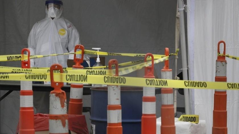 El director de salud pública de Estados Unidos, Jerome Adams, ofreció una lúgubre advertencia sobre el panorama de fallecimientos en el país a causa del virus.