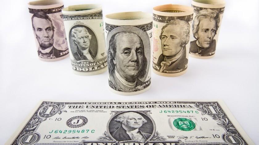 El máximo histórico anterior del dólar fue de 25.46 pesos en operaciones reportadas durante la mañana del 24 de marzo.(Pixabay)