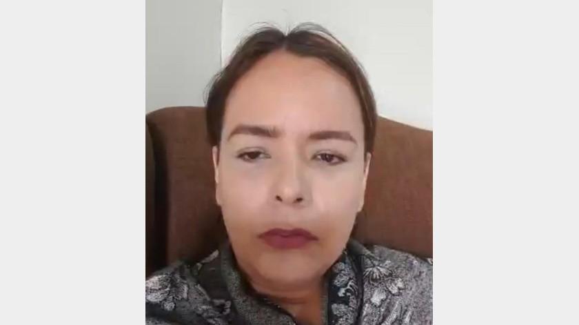 Teresa Gutiérrez, la primera paciente de Covid-19 en Cajeme, pide a la población tomar las medidas preventivas en vez de tener miedo.
