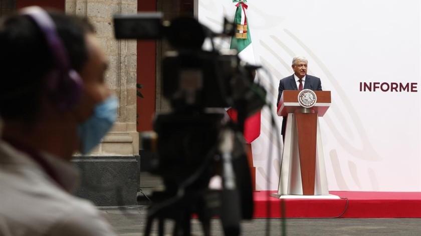 Andrés Manuel ha dicho que México podrá reponerse a la crisis por el coronavirus(EFE)