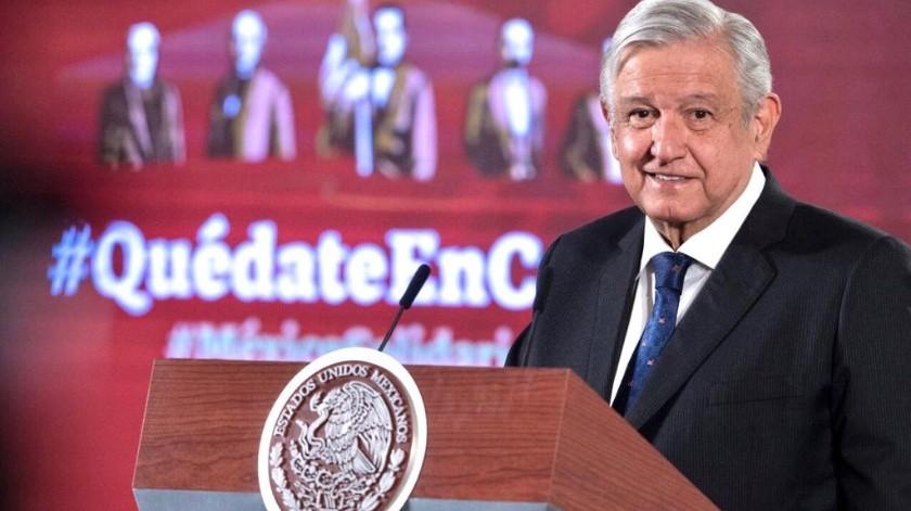 Donación de aguinaldo de altos funcionarios es medida voluntaria: AMLO(Gobierno de México)