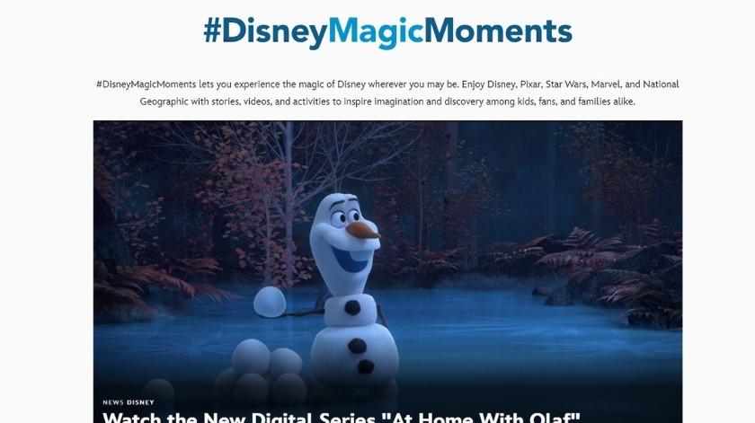 Fanáticos podrán seguir disfrutando de las novedades de Disney.(Cortesía)