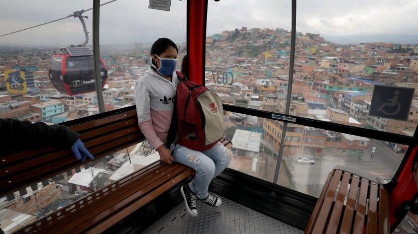 La Universidad Nacional Autónoma de México (UNAM) señaló que en los próximos días iniciará una fase de alta contagiosidad en la Ciudad de México y sus áreas conurbadas.(Copyright 2020 The Associated Press. All rights reserved., AP)
