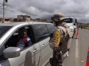 Los filtros se colocaron desde temprana hora en las zonas de Playas de Tijuana, Zona Río y la carretera libre Tijuana-Tecate.