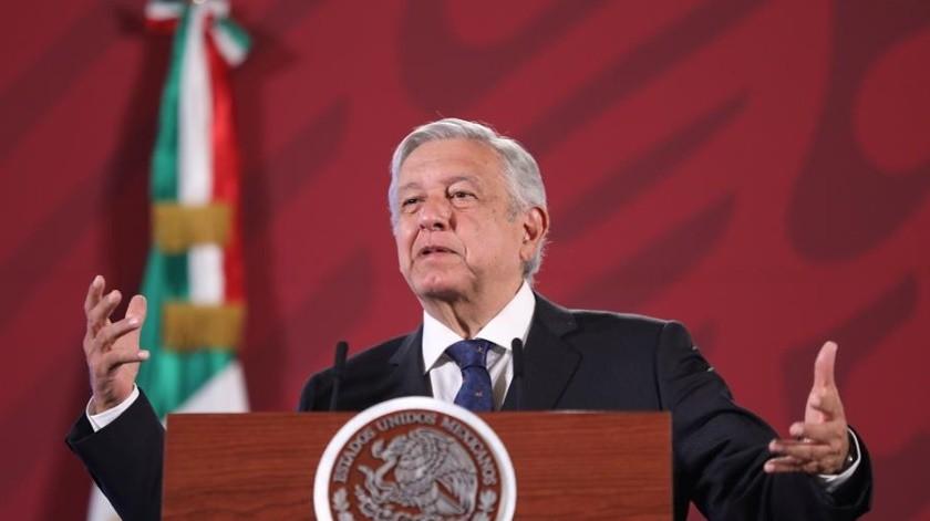 Andrés Manuel López Obrador ha asegurado que México se repondrá pronto a la crisis por la pandemia del coronavirus.(EFE)