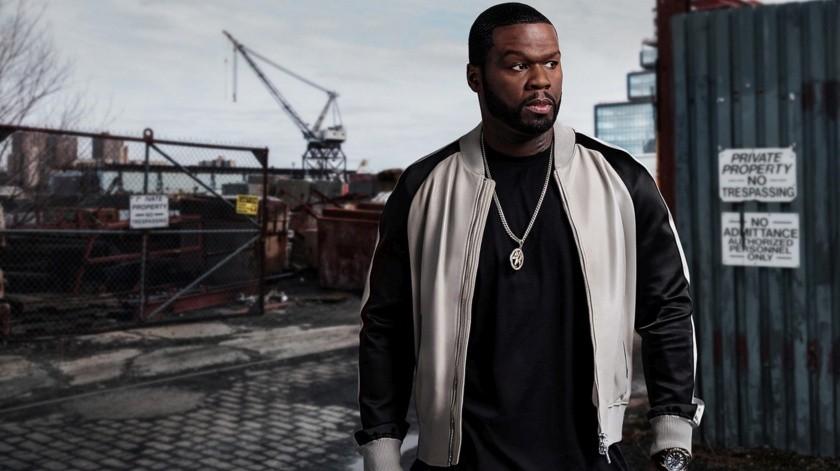 """Alista 50 Cent su nueva serie dramática """"Black Mafia Family"""".(Internet)"""