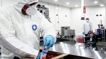 Cambian la salsa picante por gel antibacterial