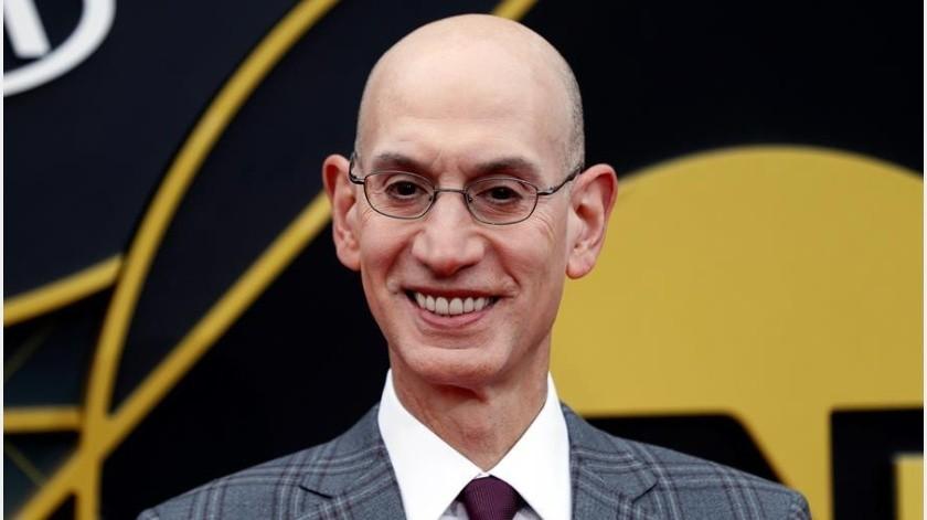 Decisión sobre futuro de la temporada de la NBA se tomará hasta mayo, asegura Silver(EFE)