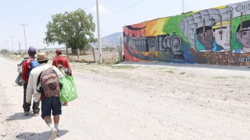 Fuerza Aérea apoya retorno de migrantes a sus países: Sánchez Cordero(Agencia Reforma)