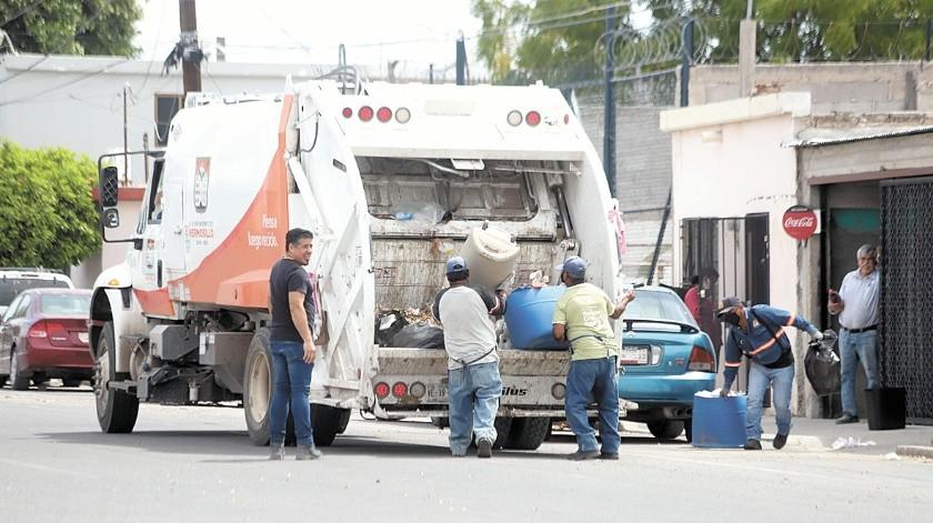 Los trabajadores del servicio de recolección de basura descansarán los días santos.(Teodoro Borbón)