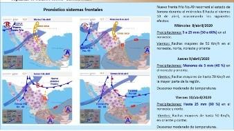 Frente Frío 49 recorrerá Sonora los siguientes 3 días; prevén nevadas en La Rumorosa