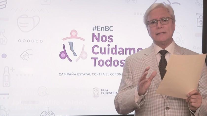 """Bonilla en """"Top10"""" de gobernadores mejor evaluados por la emergencia sanitaria(Archivo)"""