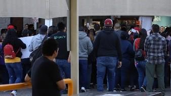 Se manifiestan trabajadores de maquiladoras en Mexicali