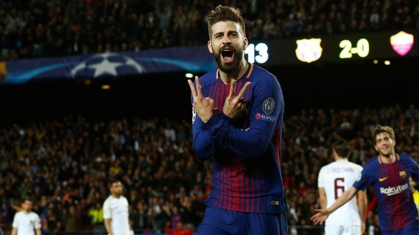 Gerard Piqué diría adiós al Barcelona para emigrar a la MLS.(AP)